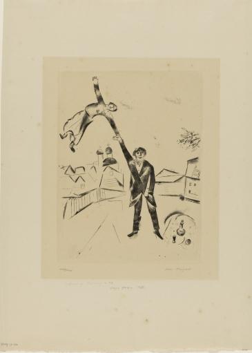 Chagall - Passeggiata-I