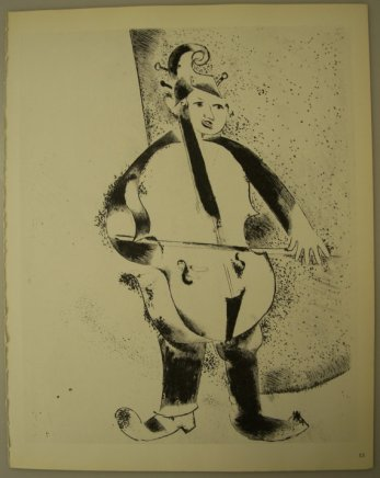 Musicista - Chagall