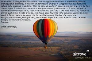 Citazione sul viaggio di José Saramago