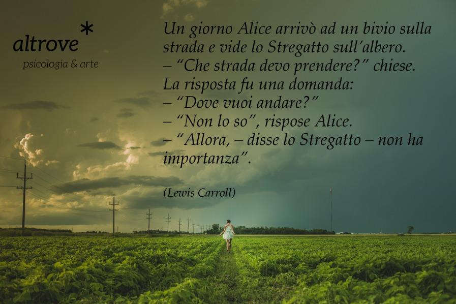 dialogo di Alice nel paese delle meraviglie di Lewis Carrol