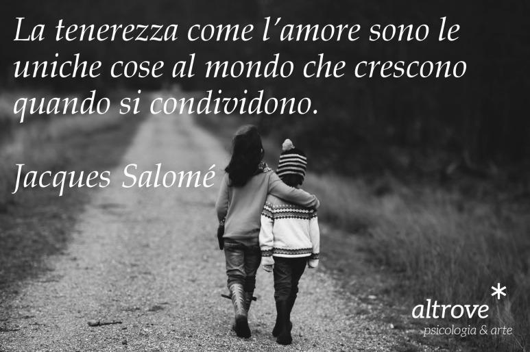 citazione di Jacques Salomé