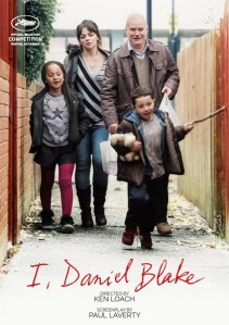 I, Daniel Blake, locandina film