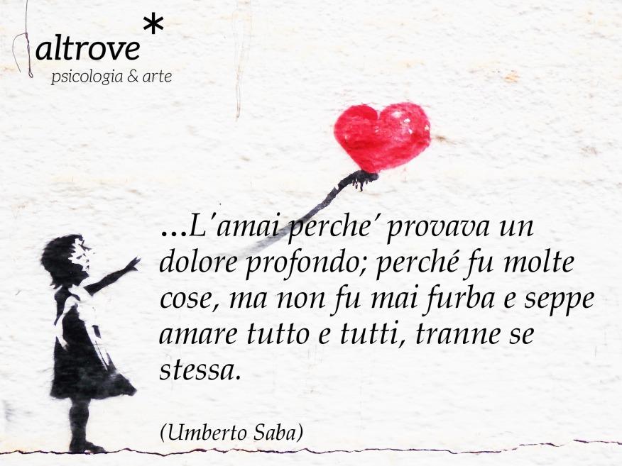 citazione Umberto Saba