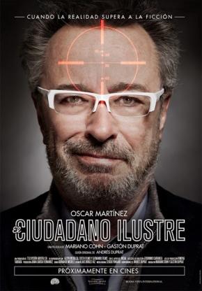 """locandina film """"Il cittadino illustre"""""""
