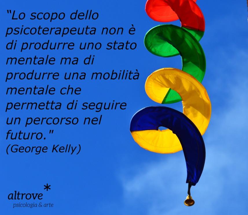 citazione George Kelly su psicoterapia