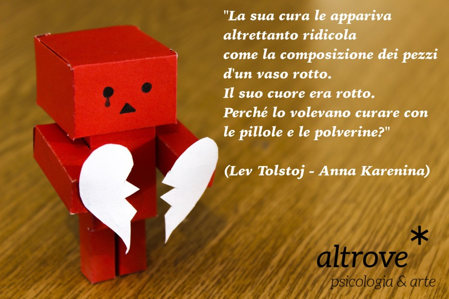 citazione sul cuore rotto di Lev Tolstoj
