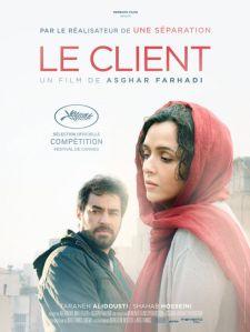 "locandina de ""Il Cliente"" film di Asghar Farhadi"