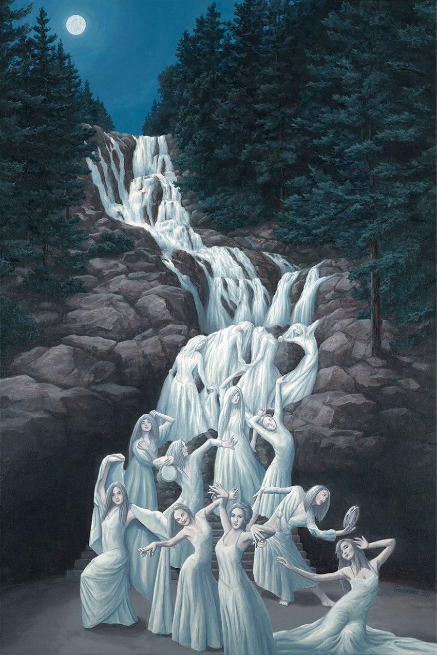 dipinto di Rob Gonsalves