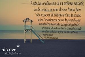 citazione Alejandra Pizarnik sulla malinconia