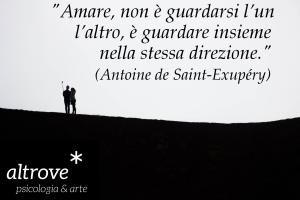 citazione sull'amare di Saint-Exupéry